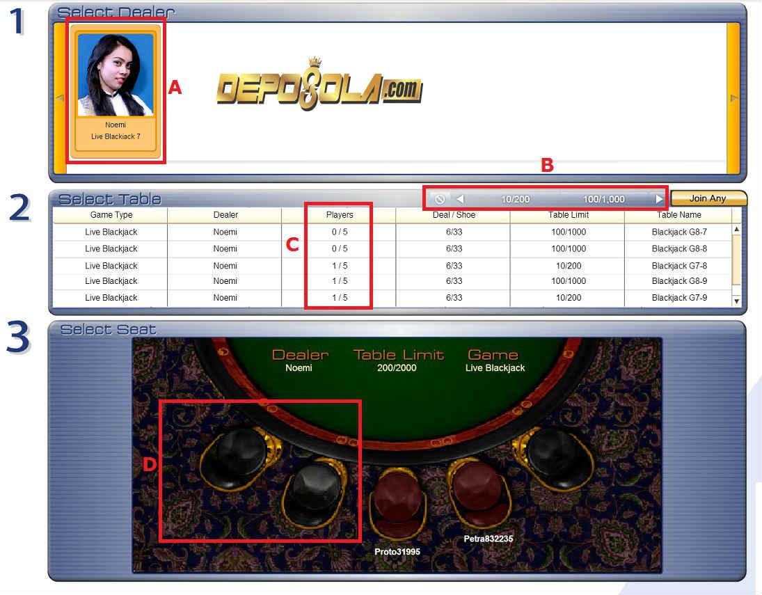 cara bermain blackjack 2